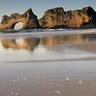 Wharariki beach 5 by Paul Mercer