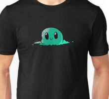 Happy Green Blob Unisex T-Shirt