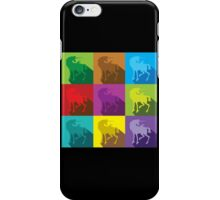 Uniquely quilty colourful Unicorn pattern iPhone Case/Skin