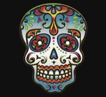 Mexican Sugar Skull, Day of the Dead, Dias de los muertos Kids Clothes