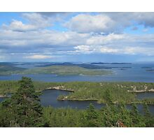 Islands of north sweden Photographic Print