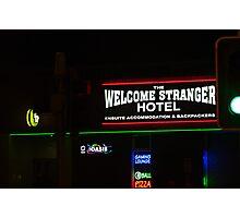 neon light  Photographic Print