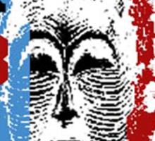 tribal voice Sticker