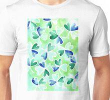 Irish St Patrick's shamrock pattern Unisex T-Shirt