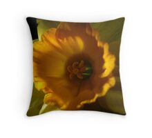 Daffodil Light Throw Pillow