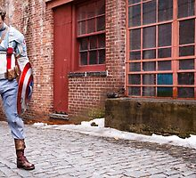 Michael Mulligan as Captain America (Photography by Steven Sze) by mostdecentthing