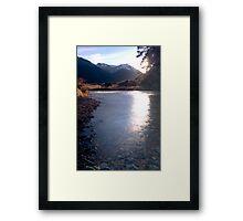 Cobb Valley 3 Framed Print