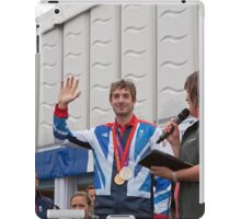 A medal winner at the Opening the PSP Southampton boat show 2012 iPad Case/Skin