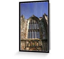 Bolton Priory West Facade Greeting Card