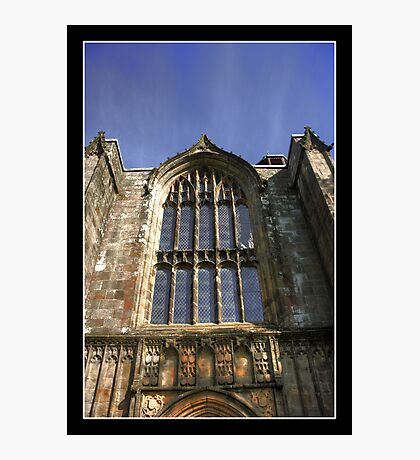 Bolton Priory West Facade Photographic Print