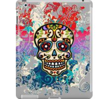 Mexican Sugar Skull, Day of the Dead, Dias de los muertos iPad Case/Skin