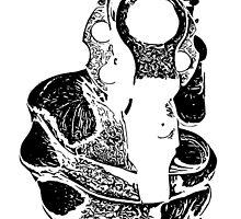 Gunman Black Graphic by Edward Fielding