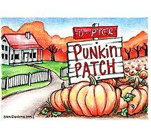 Punkin Patch... Photographic Print