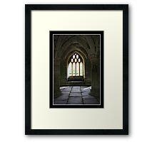 Valle Crucis Abbey - Llangollen, Wales Framed Print
