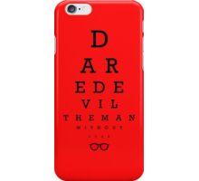 Daredevil Ophthalmologist iPhone Case/Skin
