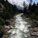 "River ""BEAS"" at Manali, by Vivek Bakshi"