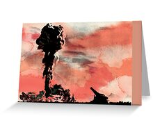 ATOMIC CANNON Greeting Card