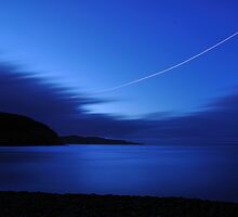 Dusk at Middle Cove by OldBirch
