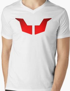 Mazinger Breast Mens V-Neck T-Shirt