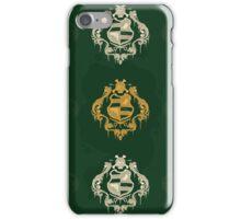 Skull Crest Wallpaper iPhone Case/Skin