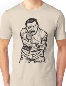 Zombie Shooting Target Unisex T-Shirt