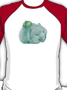 Snoozing Bulbasaur T-Shirt