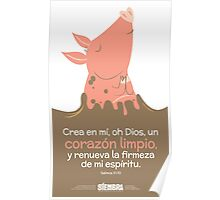 Salmos 51:10 Poster