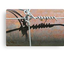 Rust With a Twist Canvas Print