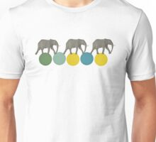 Travelling Elephants Unisex T-Shirt
