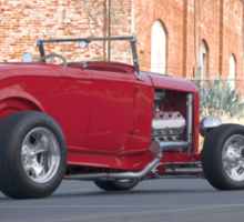1932 Ford Roadster 3Q Rear View Sticker