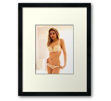 TandA Girl - Nicky Phillips Framed Print