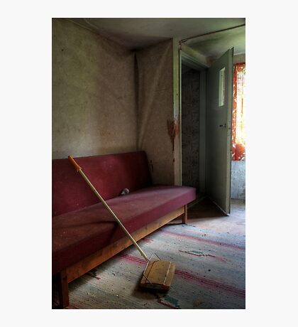20.5.2015: Floor Washer and Sofa Photographic Print