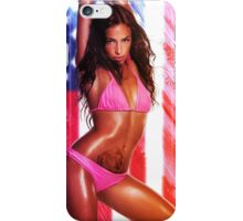 Blonde girl teen woman european american sexy hot swedish sweden iPhone Case/Skin