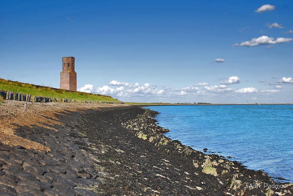 Plump Tower (sea side) by Adri  Padmos