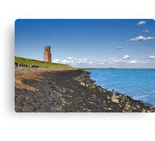 Plump Tower (sea side) Canvas Print