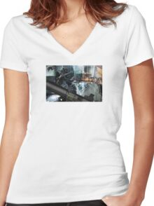 Rainbow Six: Siege Women's Fitted V-Neck T-Shirt
