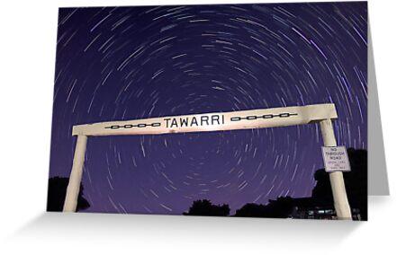Star Trails At Tawarri  by EOS20