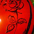 Red Rose by Leeannarose