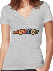 Wacky Races -A Classic Cartoon Women's Fitted V-Neck T-Shirt