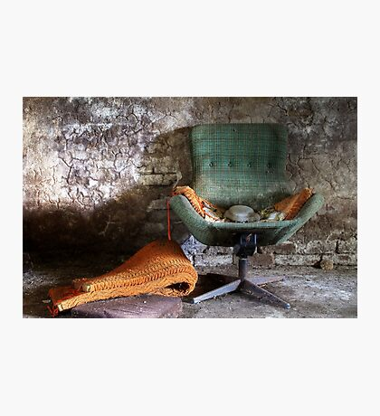 20.5.2015: Old Chair Photographic Print