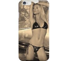 Girl ocean bikini summer sexy hot fresh blond swag eyes dope trend trending iPhone Case/Skin