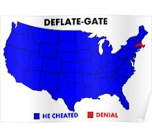 Deflate-Gate Opinion Poll Poster
