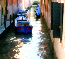 Venice Boats by Dennis Granzow