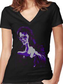 Mister Haff Women's Fitted V-Neck T-Shirt