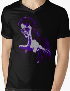 Mister Haff Mens V-Neck T-Shirt