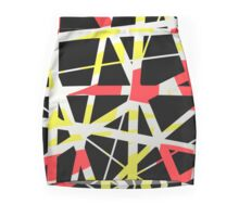 Red, yellow, black abstract gifts & decor Mini Skirt