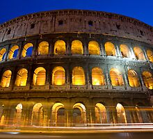 Colloseum by Night by shutterjunkie