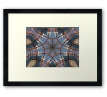 Copper Wire Framed Print