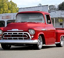 1957 Chevrolet Custom Stepside Pickup by DaveKoontz