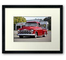 1957 Chevrolet Custom Stepside Pickup Framed Print